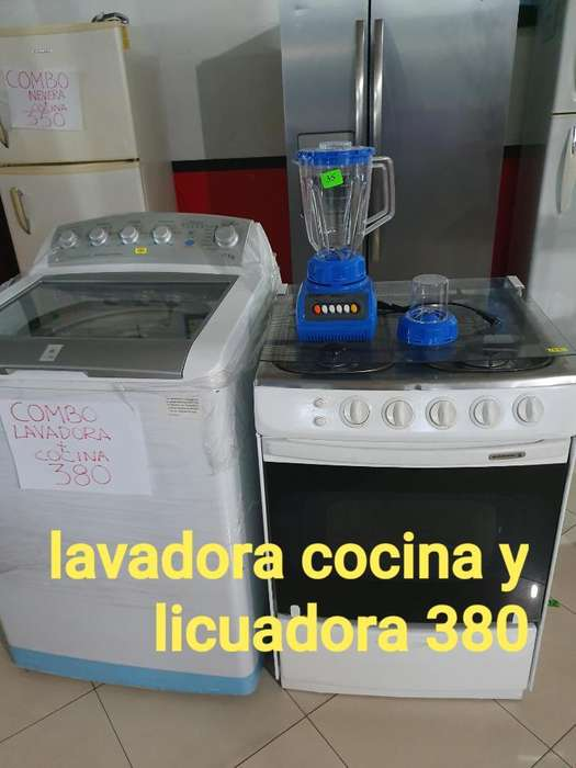 Lavadora Y Cocina Regalo Licuadira Nueva