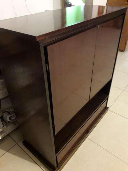 Mueble para Tv. Lustrado