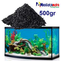 Carbon activado para acuarios funda de 500gr agua cristalina y sin olor