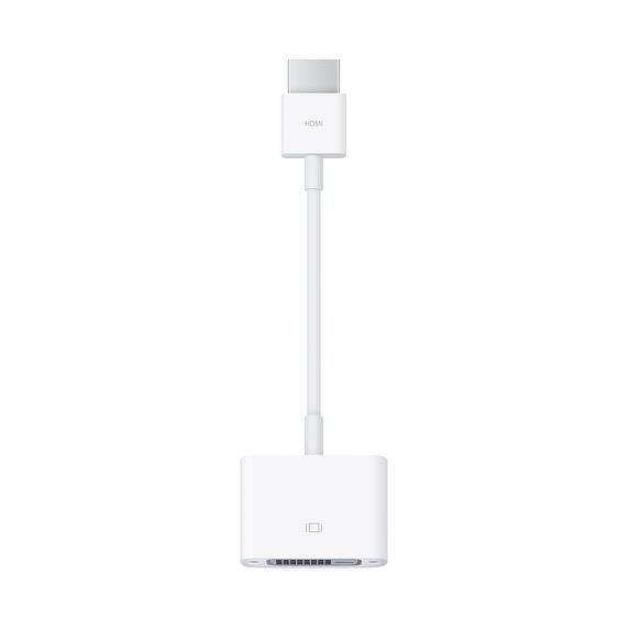 Adaptador Hdmi a Dvi Marca Apple