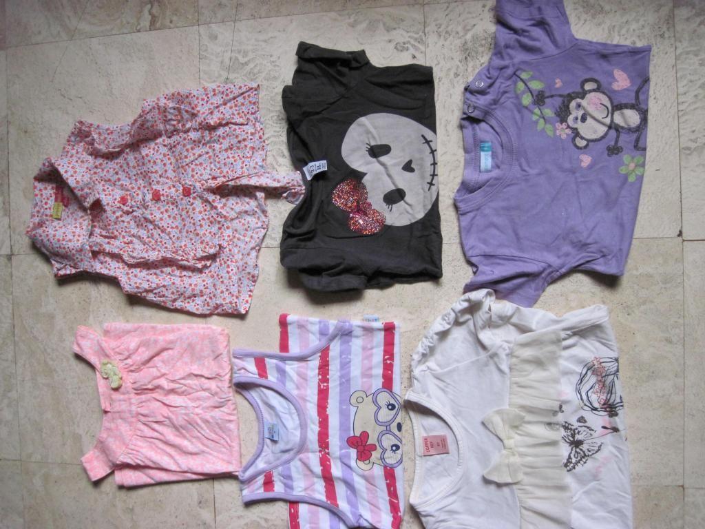 Polos, blusa Zara, Carters S/ 15 soles (6 piezas)