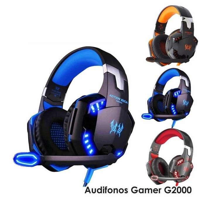 Audifonos Gamer G2000