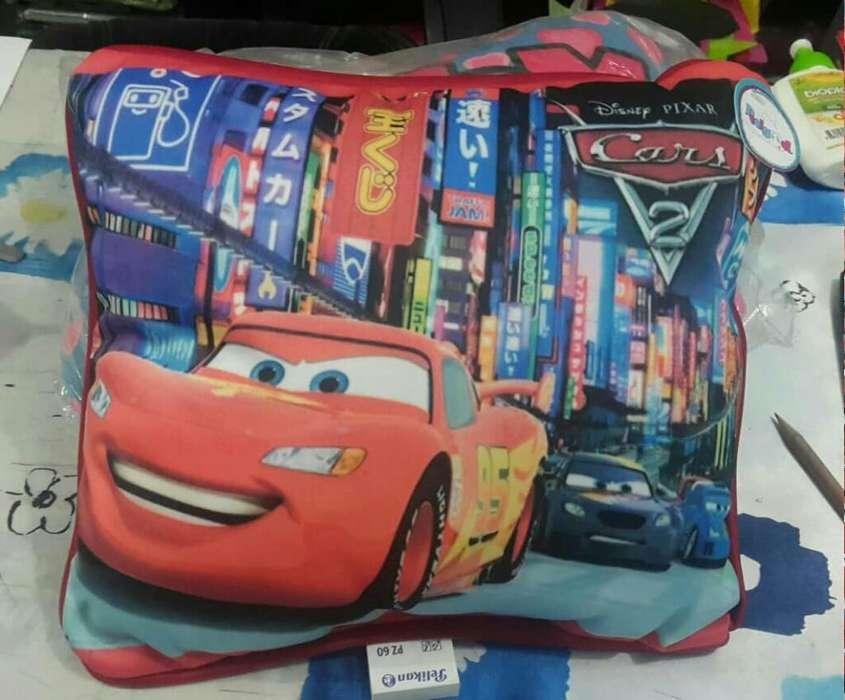 Cojin Infantil Cars
