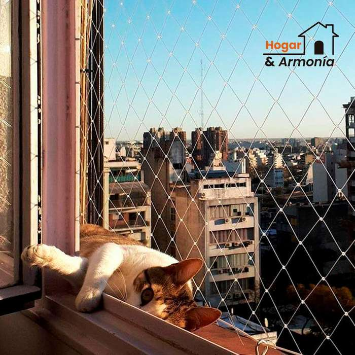 mallas de seguridad para gatos