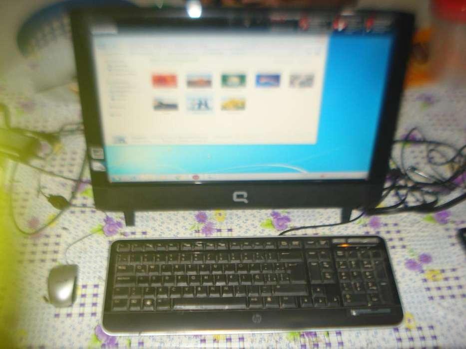 Computadora All In One Compaq Cq11007la Caja Orig Teclado