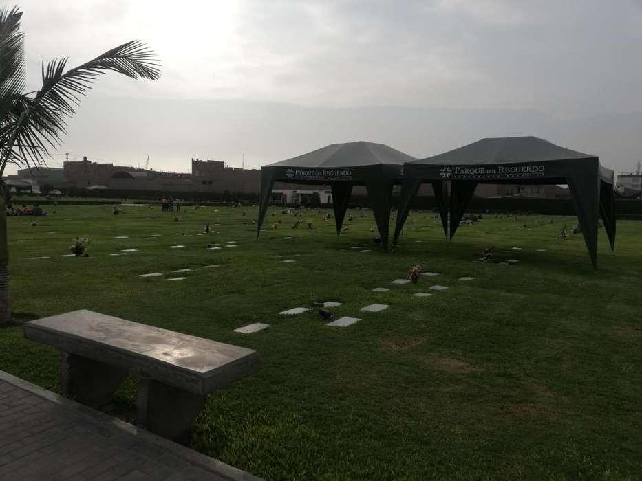 Se vende 1 espacio en cementerio parque del recuerdo