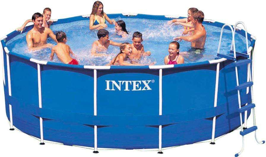 15ft X 48 Inch Intex Metal Frame Above Ground Pool