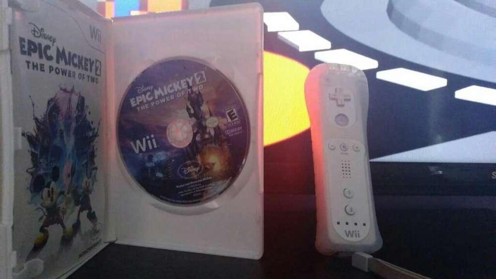 Vendo Control de Wii, Protector Y Juego