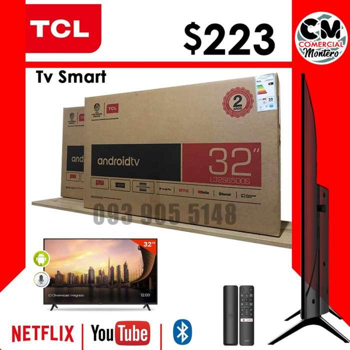 TELEVISOR DE 32 PULGADAS TCL TV SMART