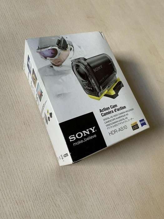 Sony Hdr-as10 Deportiva Acuatica en Caja
