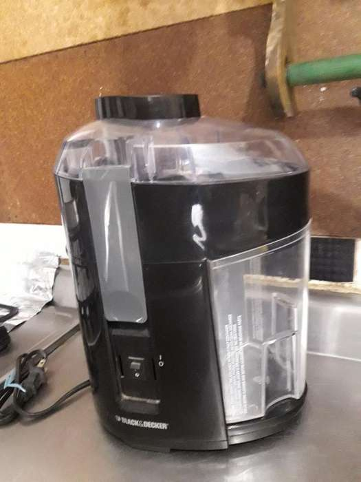 Extractor de Jugo Blackydecker