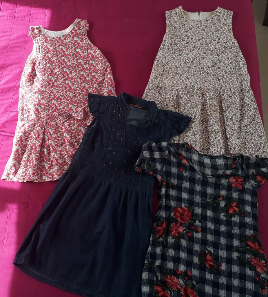 1c47ef039 Lote de Vestidos Niña Talla 10 12 - Villavicencio