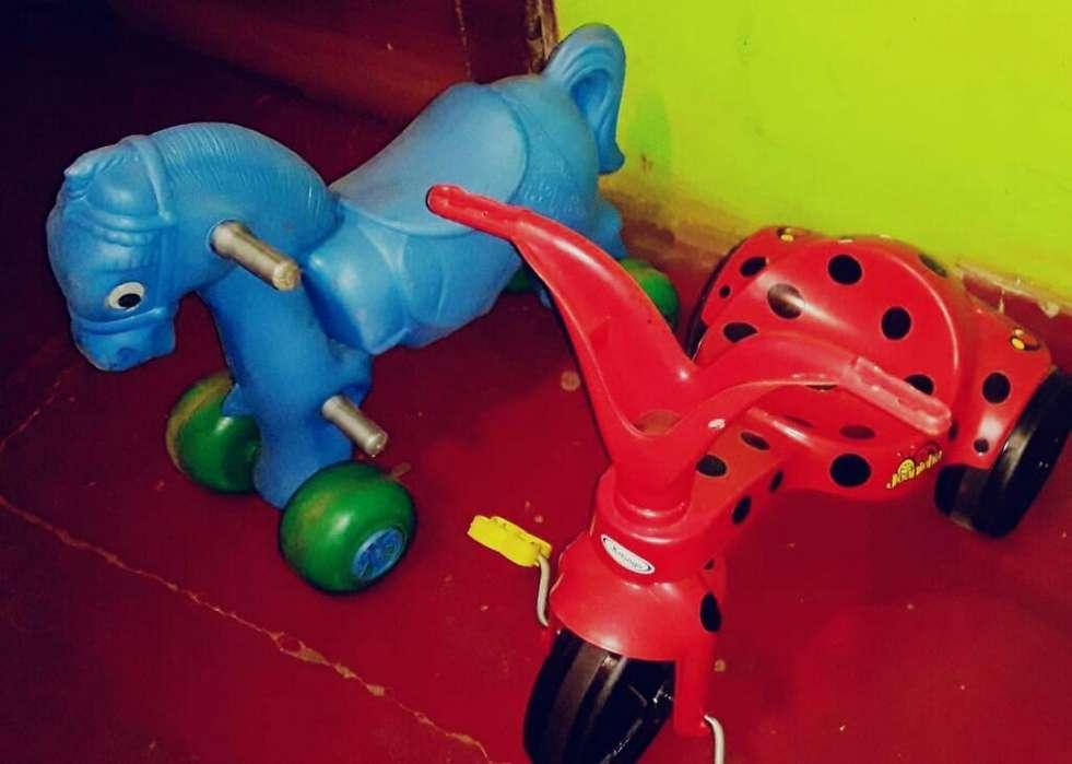 Caballito Y Triciclo