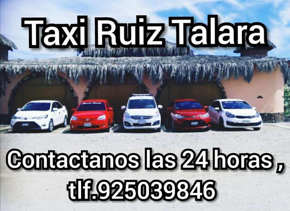 Servico de Taxi Dentro Y Fuera de Talara