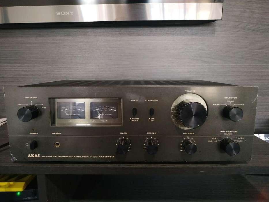 Amplificador Akai Am 2450