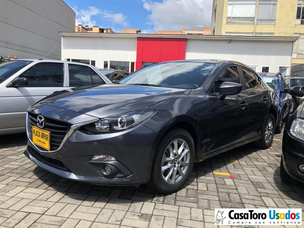 Mazda 3 Touring Mt 2000cc 2017