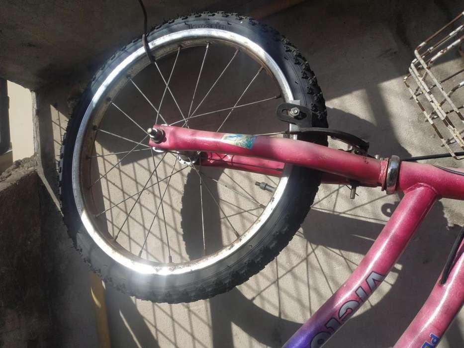 Bicicletas nena y cuatriciclo