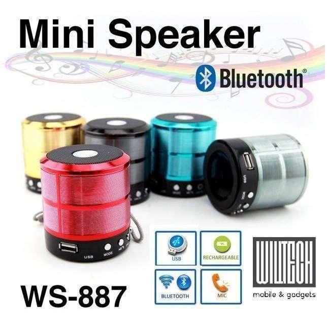 Speaker Bluetooth MS-887