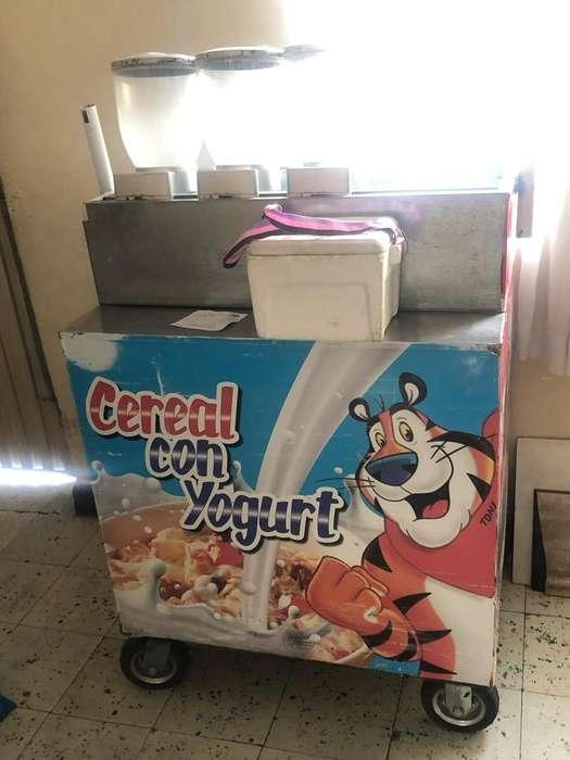 Negocio Carro de Yogurt Y Cereal