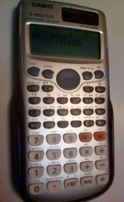 <strong>calculadora</strong> Científica Casio Buen Estado