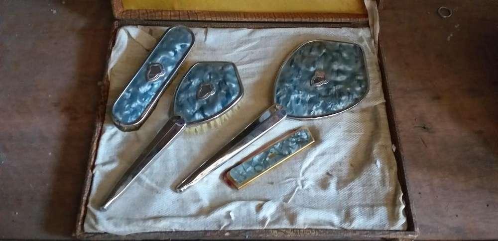 Set Belleza Antiguo en Carey