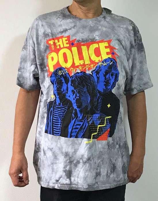 Polo hombre The Police Sting banda Rock talla L