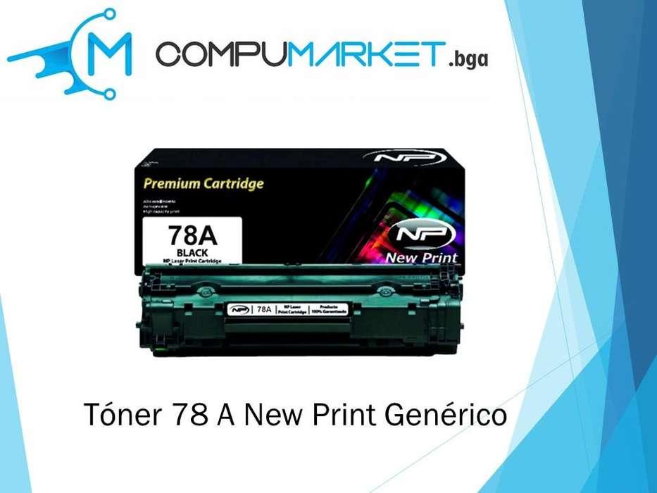 Toner 78A para HP generico New Print nuevo y facturado