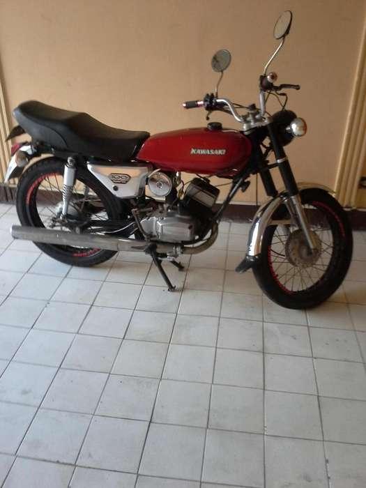 <strong>kawasaki</strong> 79 clasica original cambio a moto de mujer