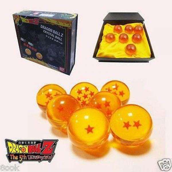 ESFERAS DEL DRAGON EN CAJA DRAGON BALLZ