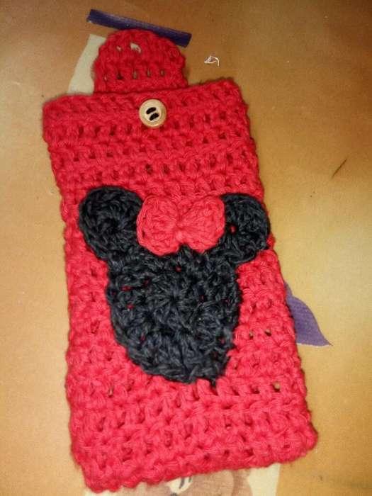 Fundas Tejida Crochet Vendo sin Usar Cel