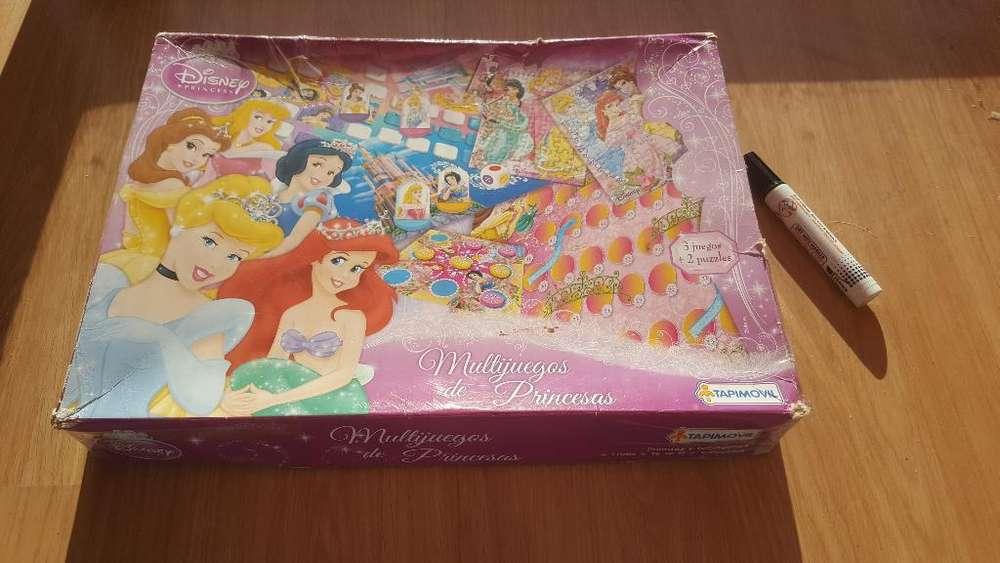 Multijuegos de Princesas. Disney