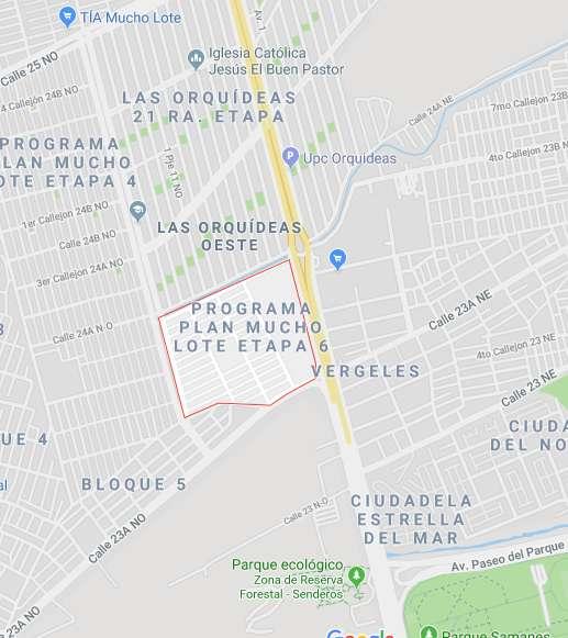 Av Francisco de Orellana, 934m2, Esquinero, Principal, Terreno en venta, Vergeles