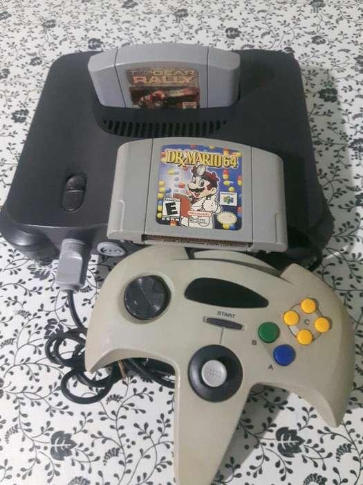Nintendo64 Cont Y Juegos