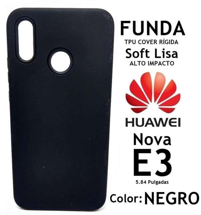 Funda Tpu Soft Rígida Alto Impacto Huawei Nova E3 Rosario
