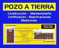 POZOS A TIERRA 500 SOLES CON CERTIFICADO A TODO COSTO..