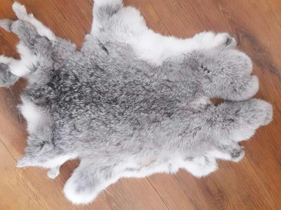 Piel Conejo Curtido Peluche