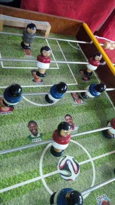 OFERTA NAVIDAD Futbolin en madera 80 X 40 100 Colombiano