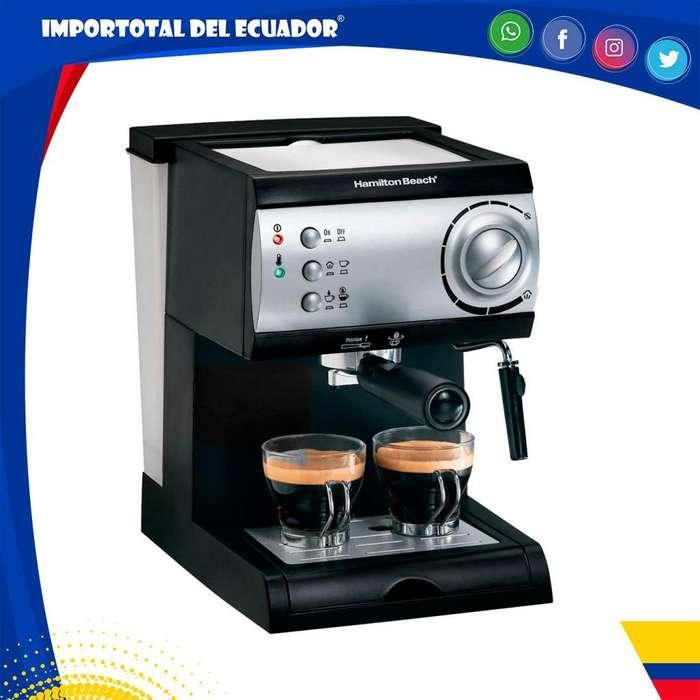Cafetera Hamilton Beach alta calidad ''nueva'' para capuchino, mocachino, expresso y latte / Modelo 40715