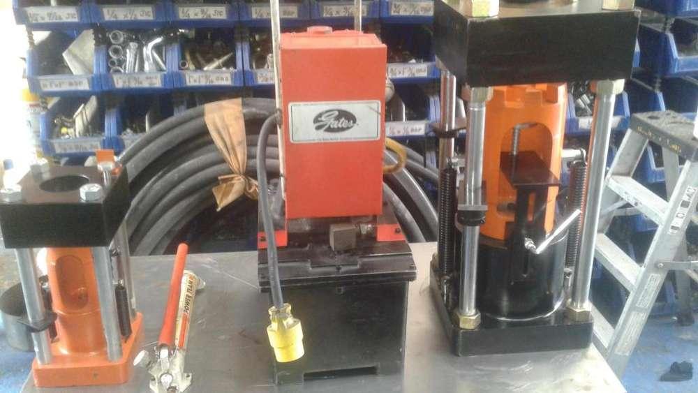 Grafadora 3000b gates usada con todos los dados grafadora de manguera dayco parker aeroquip crimp pc707