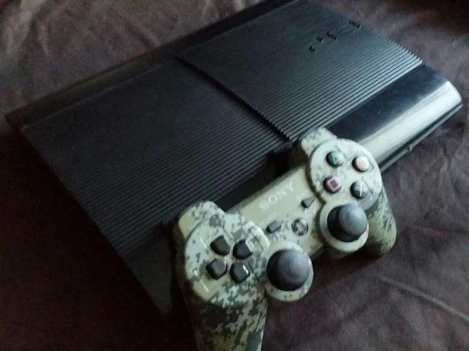 Playstation 3 Ultra Slim 500gb 3 Juegos