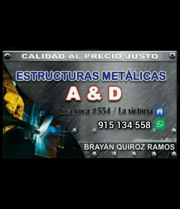 Estructuras Metalicas a Y D