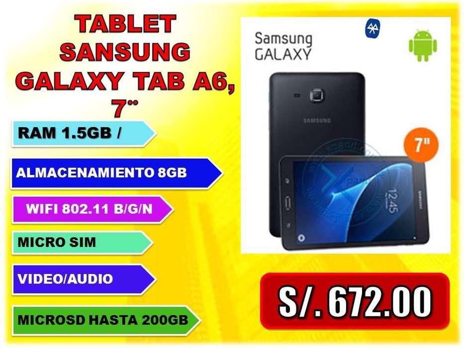 TABLET SANSUNG GALAXY TAB A6, 7