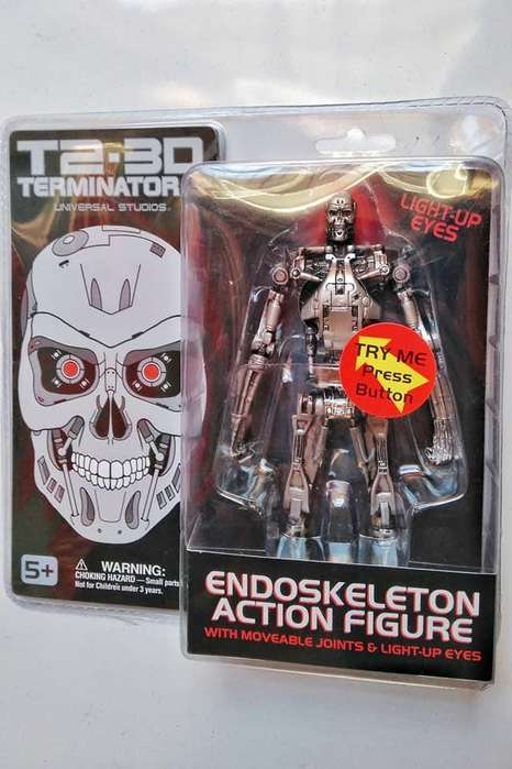 Figura Exclusiva Universal Studios Terminator 2 Endoskeleton