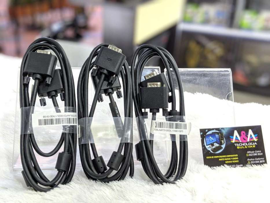 Cable Vga Nuevos Originales