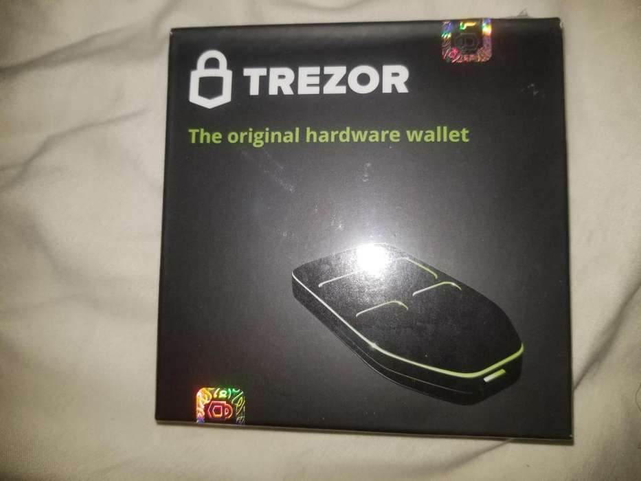 Trezor crypto bitcoin wallet NEW