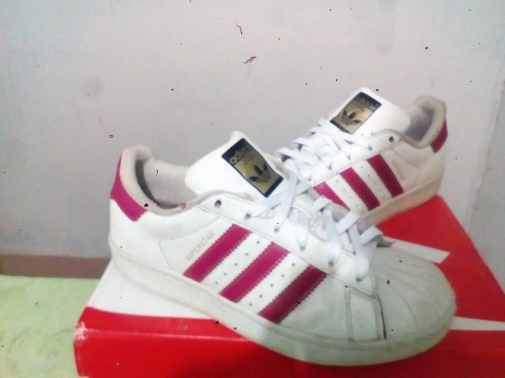 168ae1da8a3 Adidas SuperStar talla 36 37 Original Estado 8 10 Remato - Trujillo