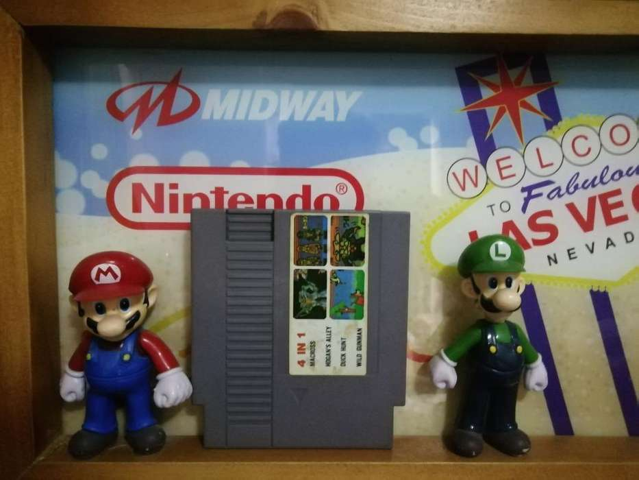 Retrobite Videojuego de Nes 4 en 1 Nintendo