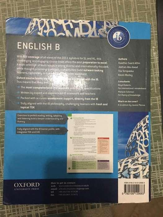 Libro English B Ib