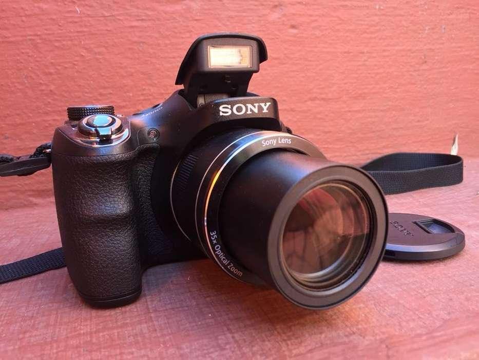 Camara Semireflex Sony H300 20mp 35x Zoom