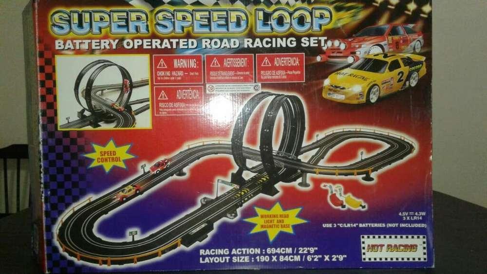 Pista Autos de Carrera Super Speed Loop